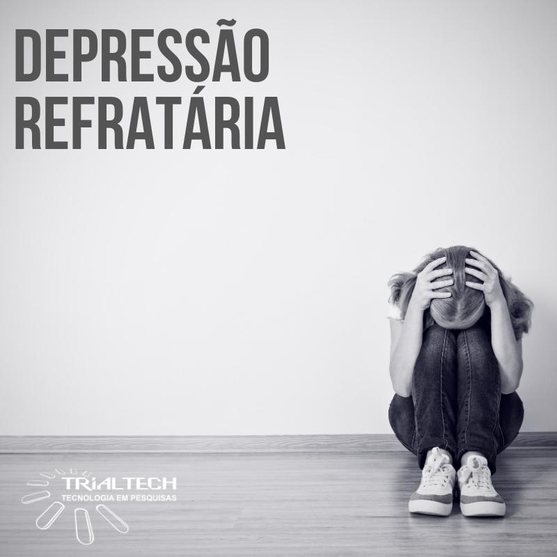 Depressão refratária