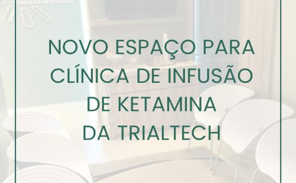 Novo Espaço da Clínica de Infusão de Ketamina